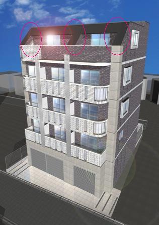 建物セットバック