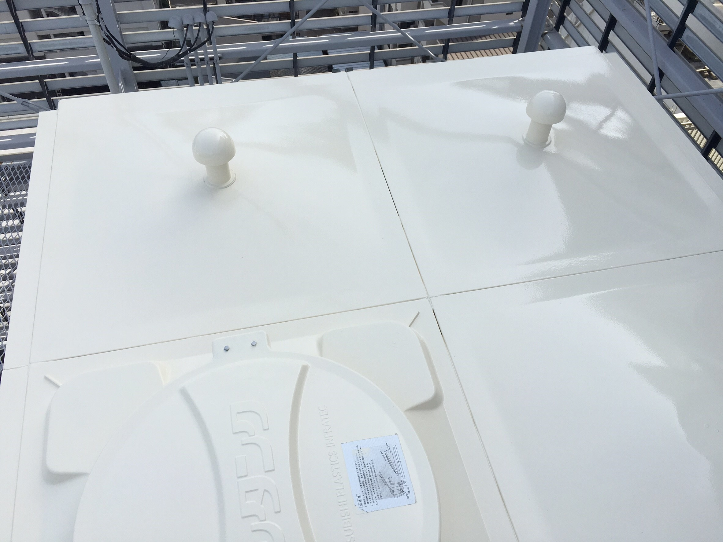 011 タンク改修塗装工事 完了