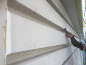 001 鋼板部塗装 ケレン清掃1