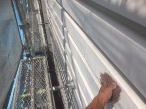 002 鋼板部塗装 ケレン清掃2