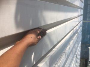 004 鋼板部塗装 錆止め後ケレン・清掃