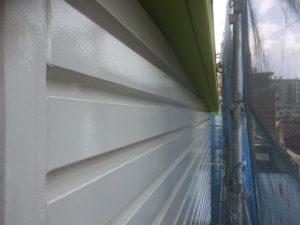 012 鋼板部塗装 塗装完了